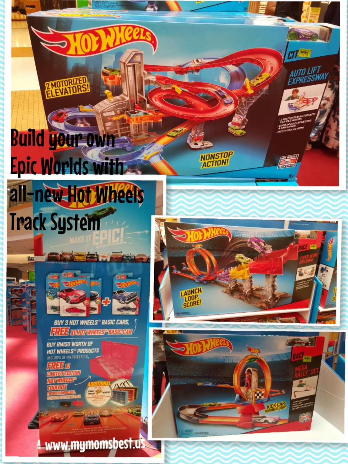 My Mom\'s Best: Mattel introduces the Hot Wheels® Track Builder System™