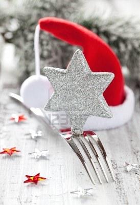 idéias de decoração para a mesa da ceia de natal