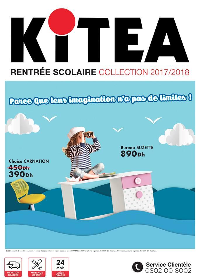 catalogue kitea maroc du 1 septembre au 31 octobre 2017 lecatalogue 100 catalogues. Black Bedroom Furniture Sets. Home Design Ideas