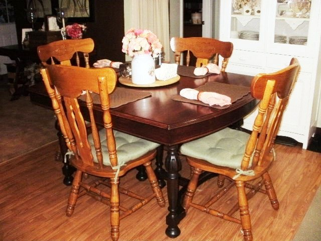 Antique Cherry Table at our house
