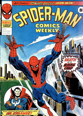 Spider-Man Comics Weekly #157