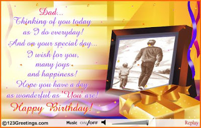 happy birthday wishes for father with best image