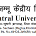 Legal Assistant at Central University of Jammu -last date 14/02/2019