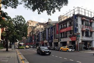 カメラ通り 台北府城北門側から撮影