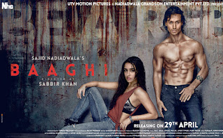Baaghi(A Rebel For Love): Review (Tiger Shroff, Shraddha Kapoor)