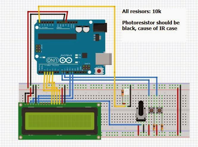 Arduino Laser Light barrier | VanceAnce