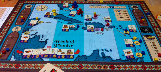 Winds of plunder tablero