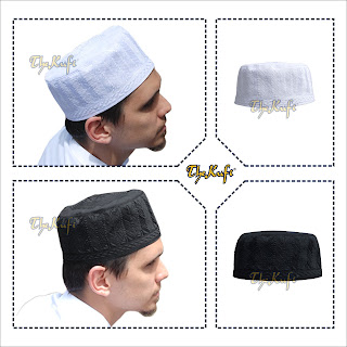 eb1b7f33153 EMBROIDERED MADINAH KUFI PRAYER CAPS