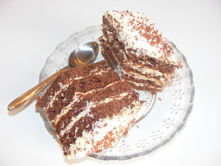 Prajitura cu vanilie si ciocolata reteta,