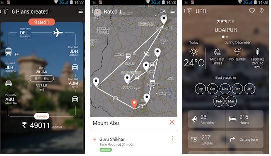 Tripigator Trip Planner Travel App for India