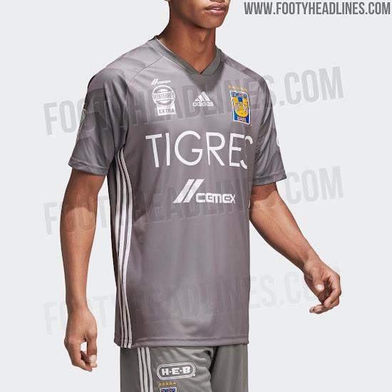 Adidas Tigres 2018 Third Kit Leaked - Footy Headlines e1a85c327