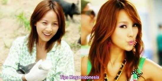 artis korea Lee Hyori tanpa memakai makeup