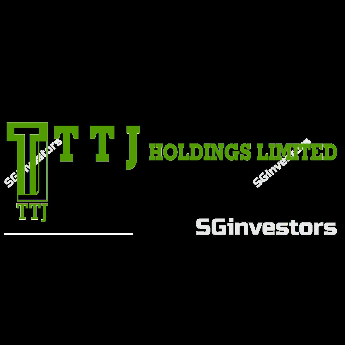 TTJ HOLDINGS LIMITED (SGX:K1Q) @ SGinvestors.io