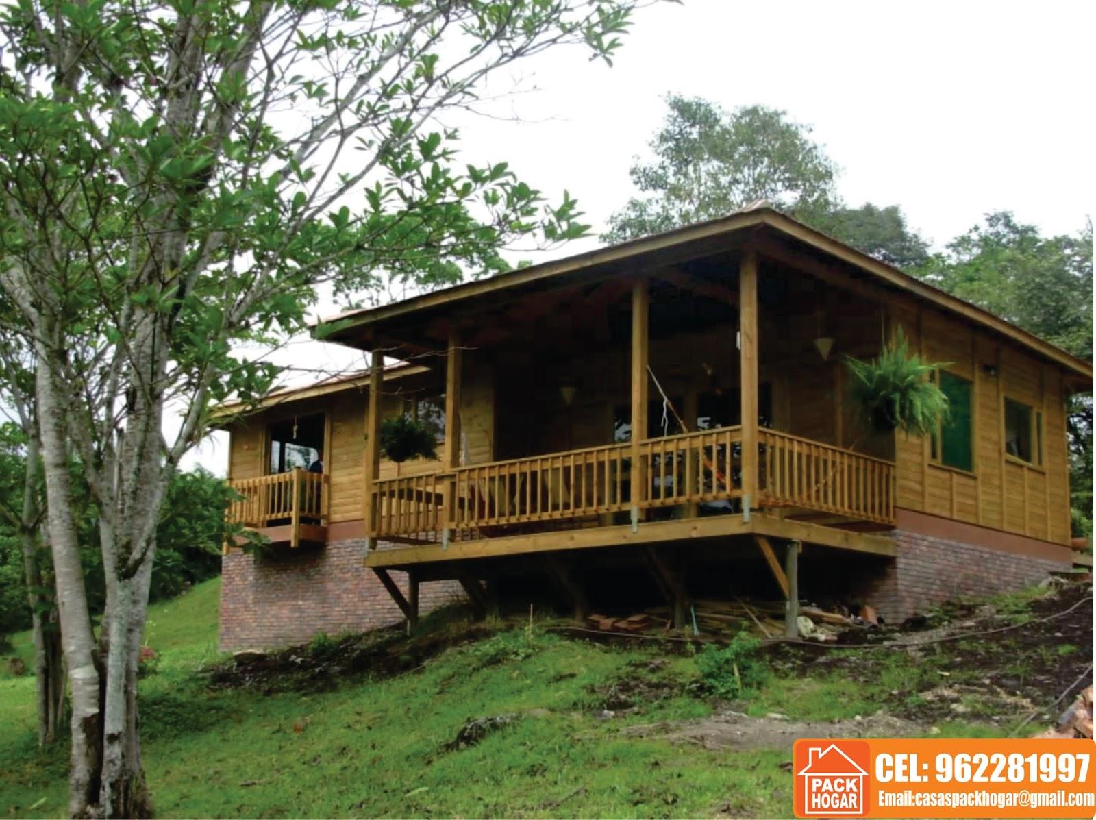 Modelos de bungalows rusticos packhogar - Fotos de bungalows de madera ...