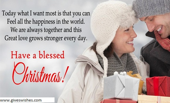 Christmas Message For Fiance And Lover
