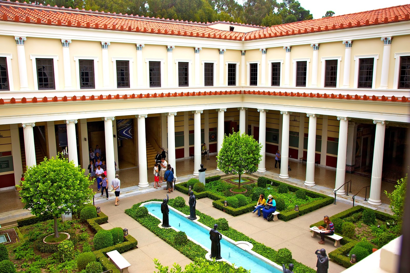 loveisspeed.......: The Getty Villa in the Pacific ...