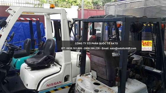 SATO cung cấp dịch vụ cho thuê xe nâng hàng cao cấp