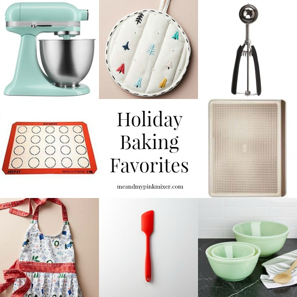 Holiday Baking Favorites - Me and My Pink Mixer
