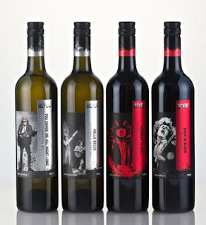 For those about to drink.... ACDC lanza sus vinos