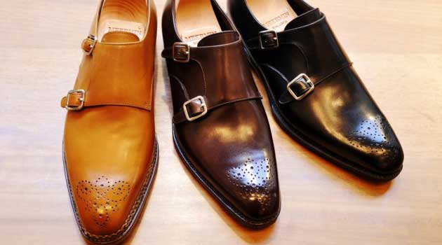 Oxford Round Tip Italian Leather Shoes Brown
