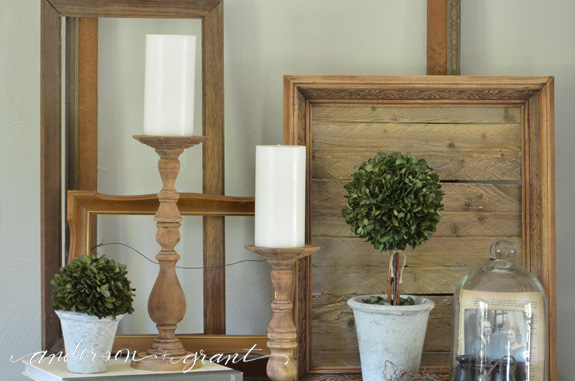 How To Decorate Your Farmhouse Style Mantel For Summer Anderson