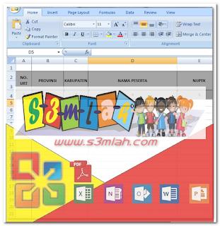 Download Format Verifikasi Sertifikasi Pada MS. Office Excel