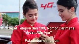Dapat Telepon dari 188, Nomor Darimana dan Ada Apa?
