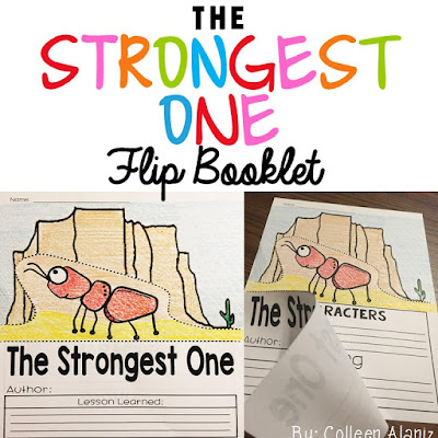 https://www.teacherspayteachers.com/Product/The-Strongest-One-Flip-Booklet-2862508