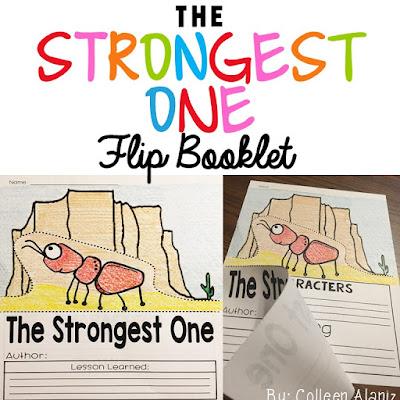 https://www.teacherspayteachers.com/Product/The-Strongest-One-Flip-Booklet-2862508