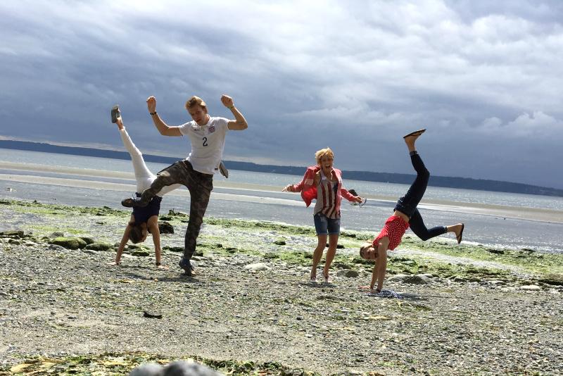Whidbey Island, Maxwelton Beach, Aunie Sauce