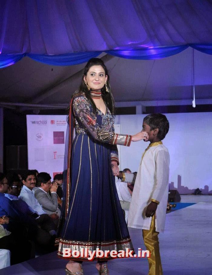Smita Bansal, Tv Babe Pics from Welingkar Fashion Show - Rashmi Desai, Vidya Malvade, Smita Bansal, Kritika Kamra