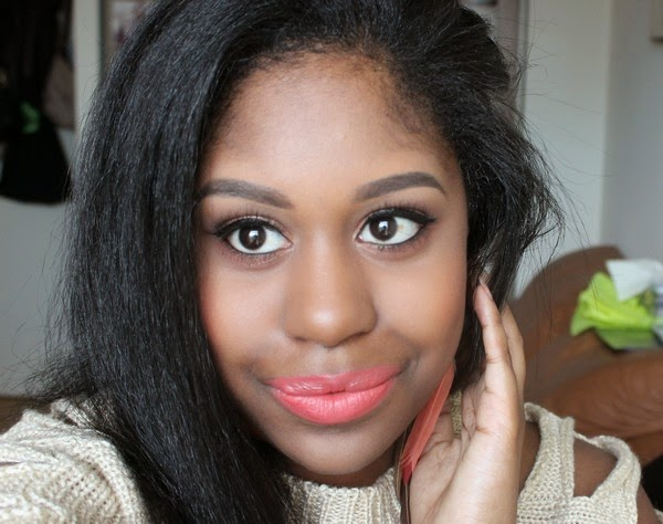 Summer Coral Bronze Makeup