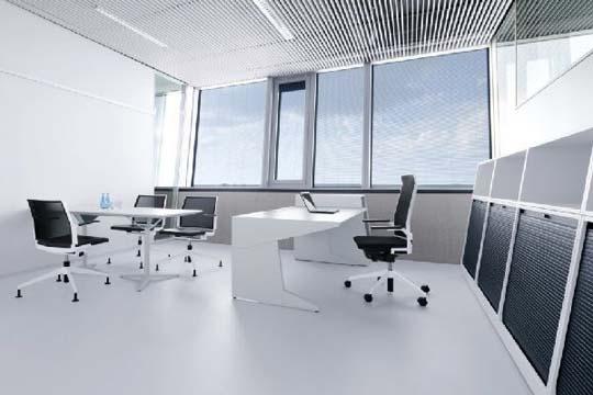 Adidas Office Interior With Large Gl Windows