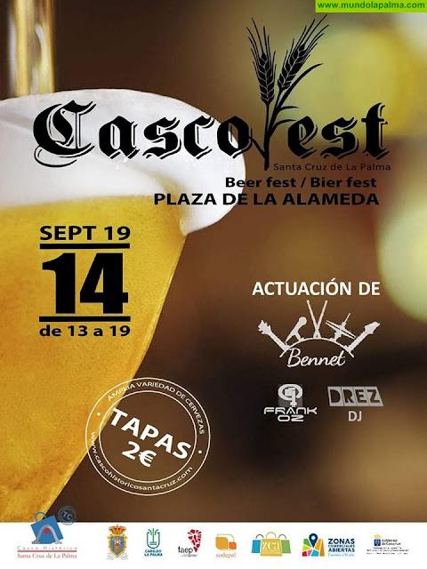 Casco Fest en Plaza de la Alameda