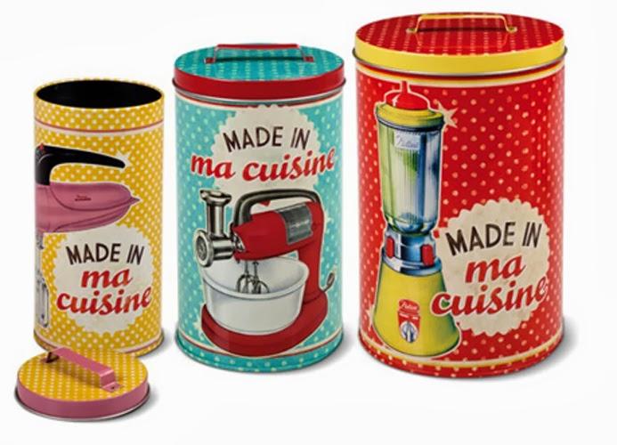 La casa chiquita las latas m s bellas del mundo - Poubelle originale cuisine ...