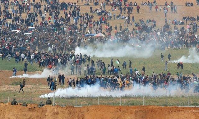 رغم تهديدات الاحتلال .. الفلسطينيون يحيون جمعة شهدائهم وأسراهم