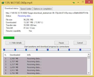 tips mempercepat download dengan cmd