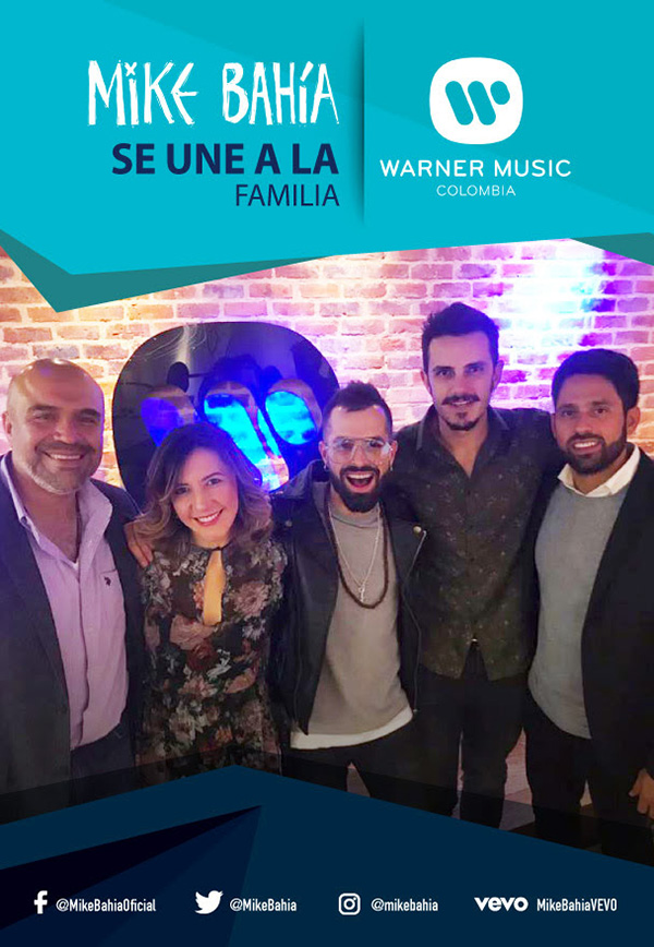 Mike-Bahía-une-familia-Warner-Music