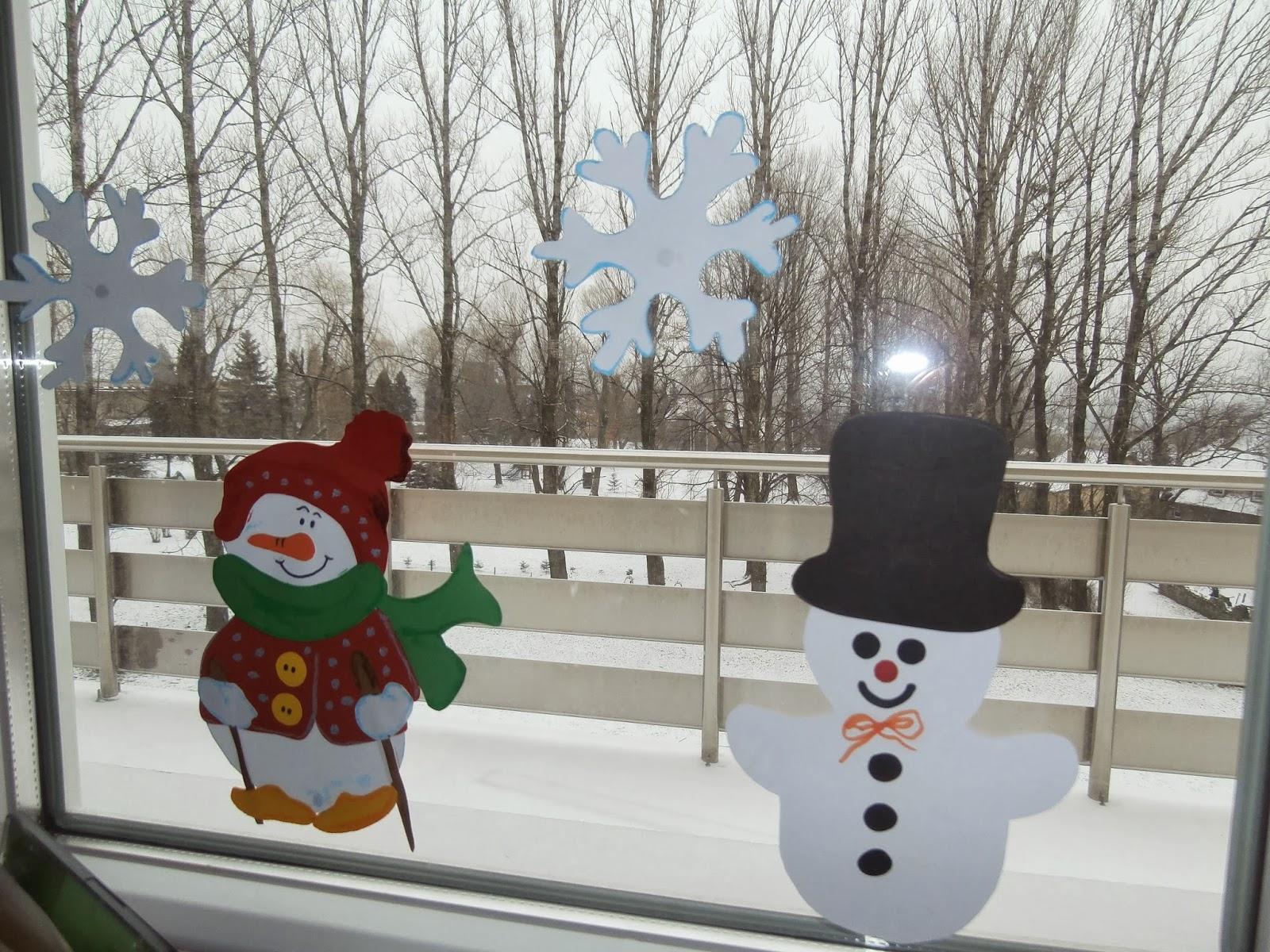 Galeria Twórczości Przedszkolnej Zimowe Okna