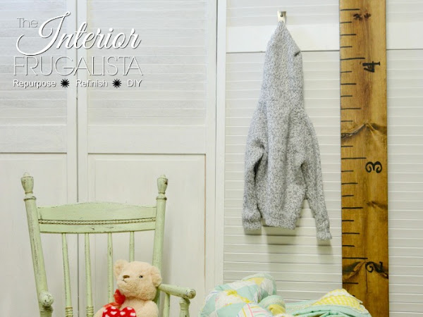Kids' Rocking Chair With Lovely Vintage Farmhouse Charm