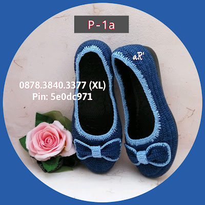 Sepatu Rajut Wanita Terbaru Model Pita ~ 0878.3840.3377 (XL)