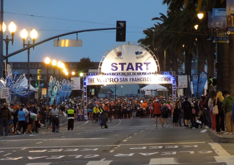 San Francisco Marathon start