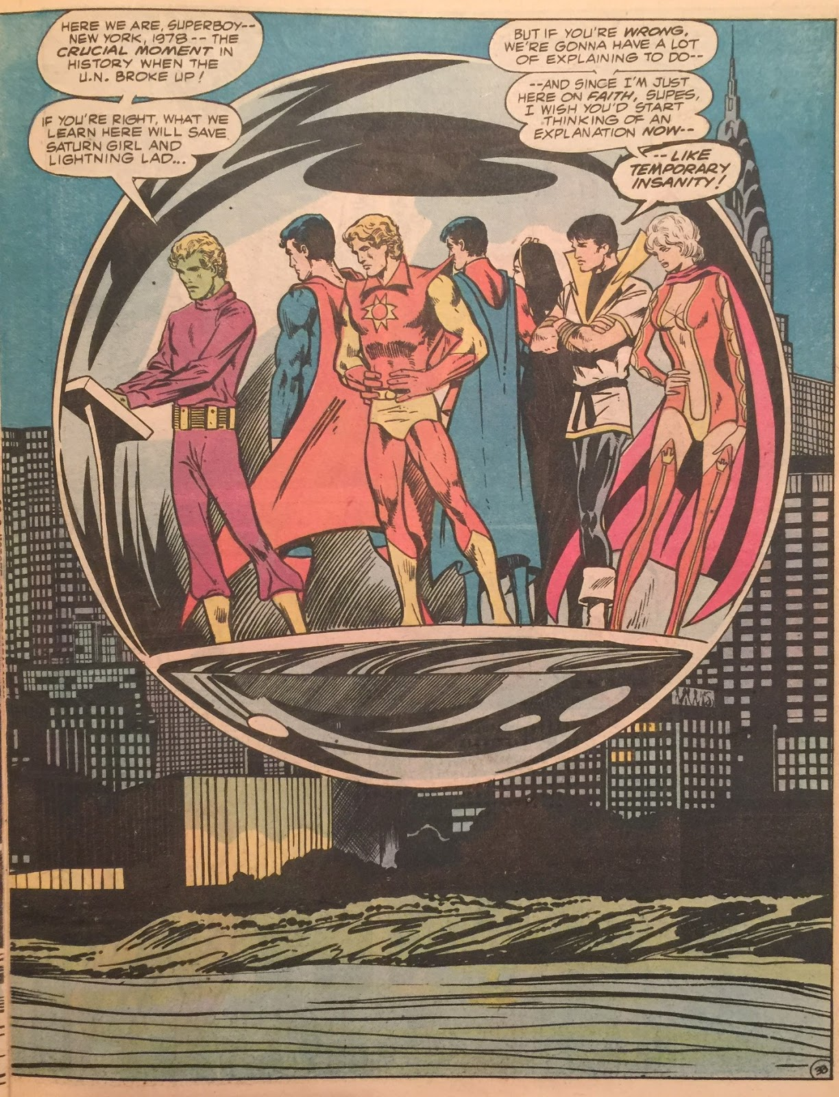 Bronze Age Babies: Super Blog Team-Up: Time, Clock of the Heart