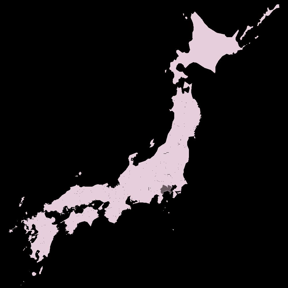 carte japon kanagawa