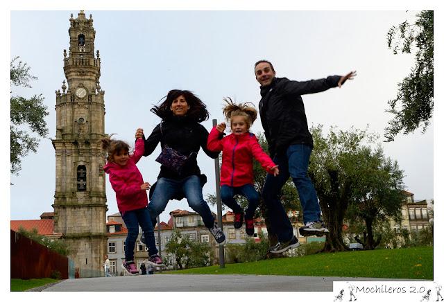 Mochileros 2.0 en Oporto