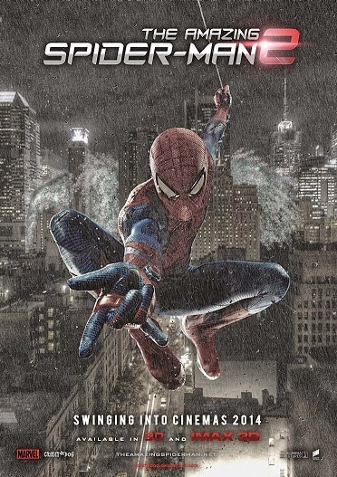 Movie : The Amazing Spiderman 2 (2014) 720p HDTS Dual Audio [Hin+Eng]
