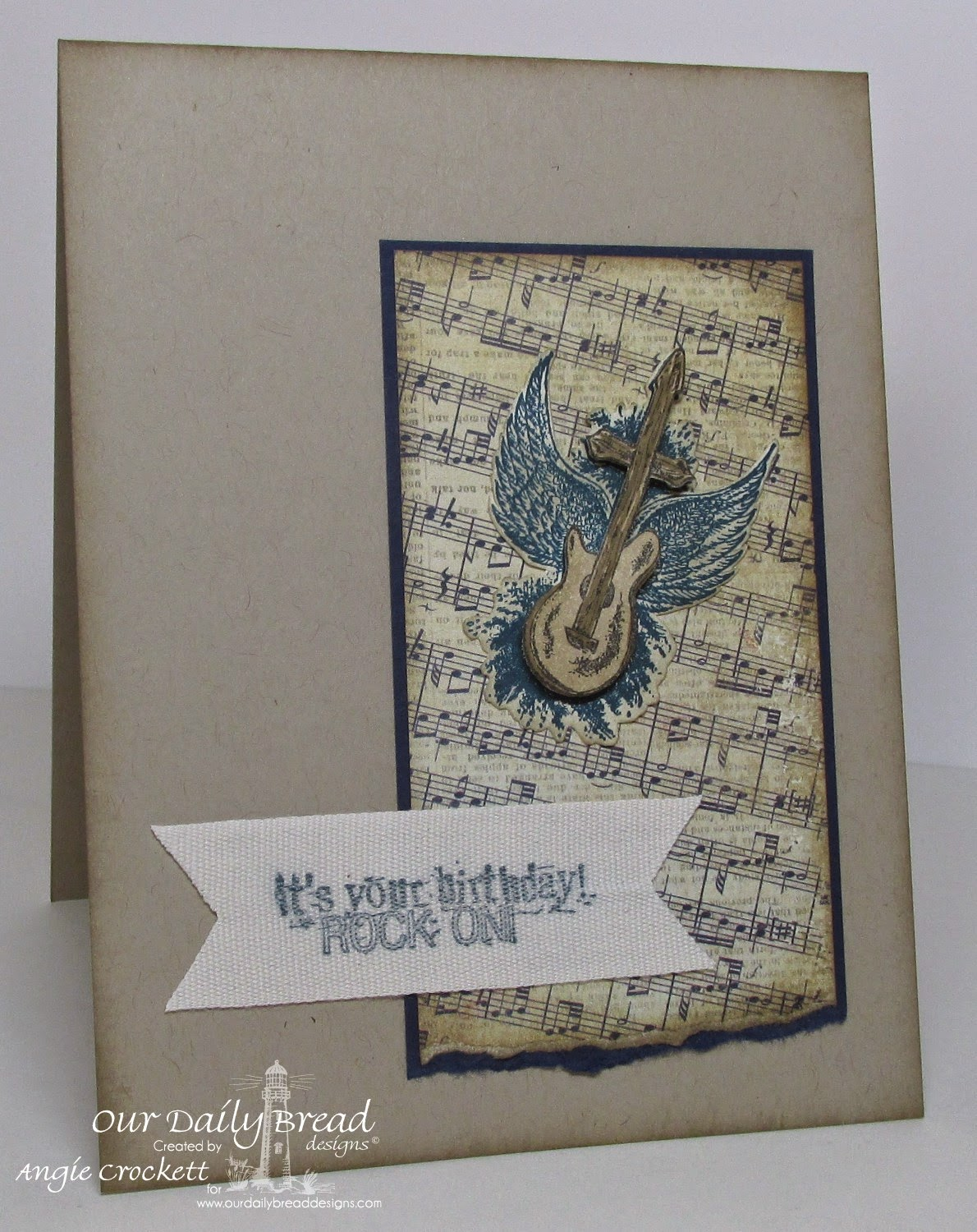 Our Daily Bread designs Rock Star, Card Designer Angie Crockett