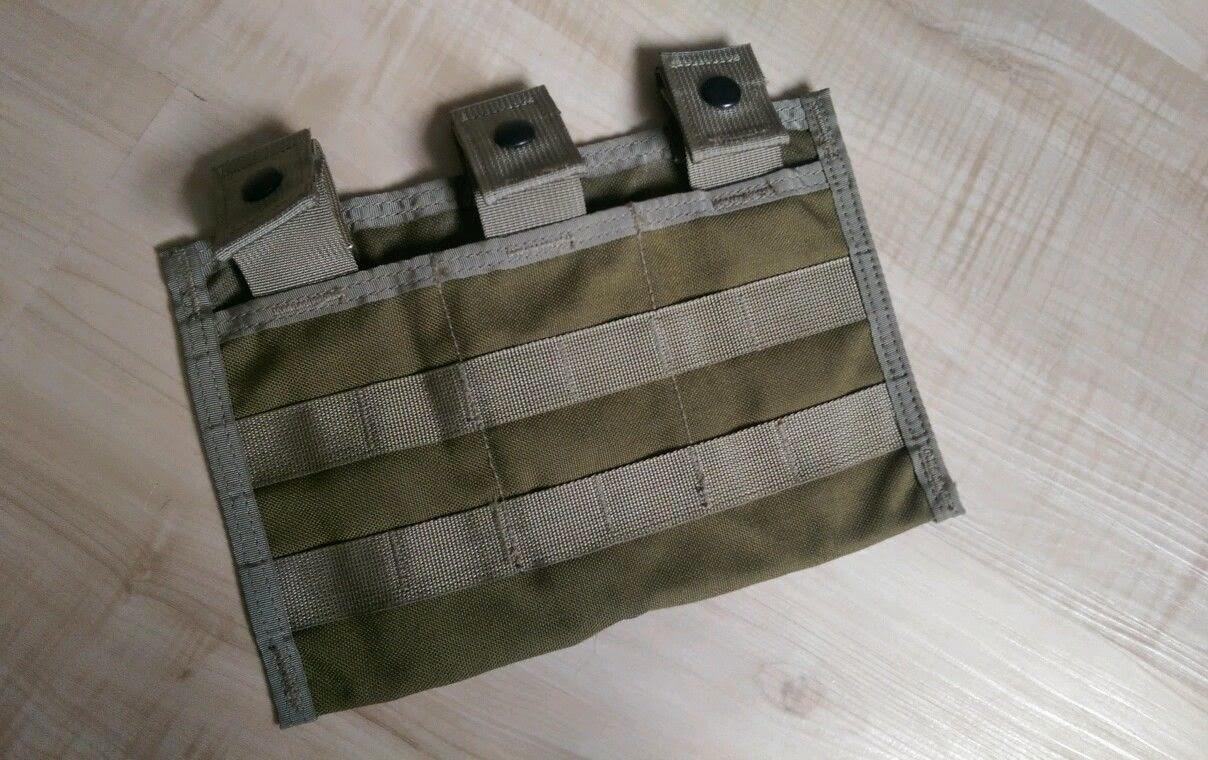 Webbingbabel Allied Industries Triple Shingle M4 Mag Pouch