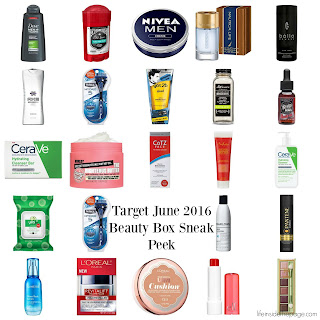 Target | June 2016  Beauty Box(es) | Sneak Peek