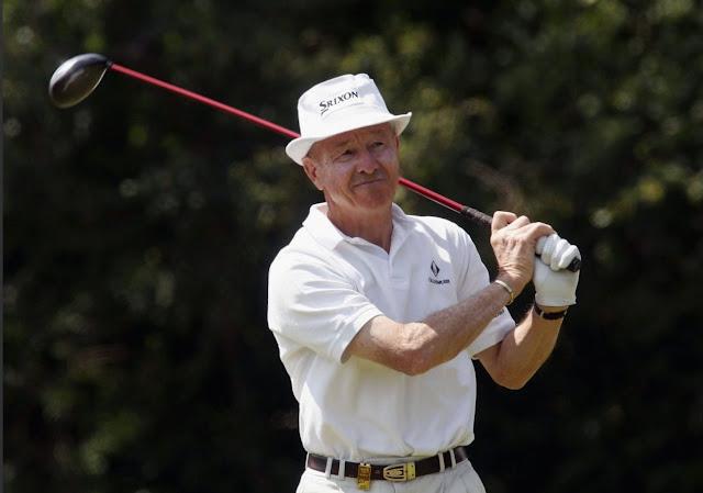 Golfer Tommy Horton